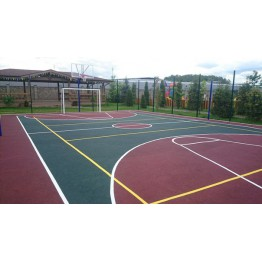 Универсальное резиновое покрытие SPORT (детские и спортивные площадки)