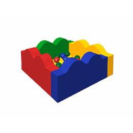 Сухой бассейн с шариками «Волна»ДМФ-МК-06.14.00