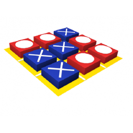 Развивающий мягкий модуль «Крестики-нолики»