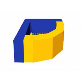 Сухой бассейн с шариками «Фасолька»ДМФ-МК-09.48.00