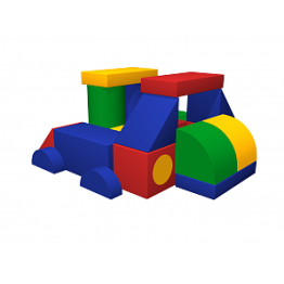 Мягкий игровой комплекс «Комбайн» ДМФ-МК-21.70.00
