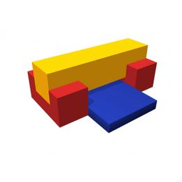 Мягкий спортивный модуль «Бревно»