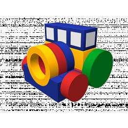 Мягкий игровой комплекс «Трактор» ДМФ-МК-19.79.00