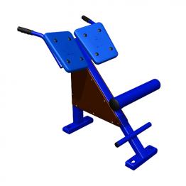 Тренажер для спины наклонный Гиперэкстензия