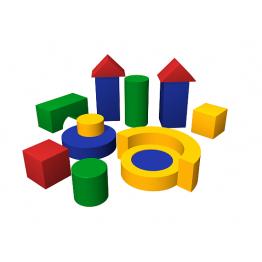 Мягкий конструктор «Избушка»
