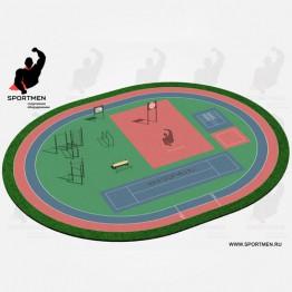 Спортивная площадка ВФСК-1
