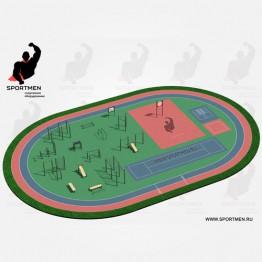 Спортивная площадка ВФСК-3