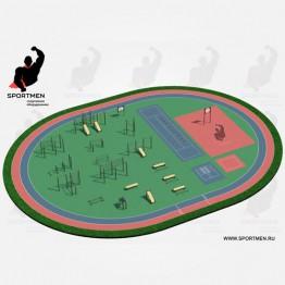 Спортивная площадка ВФСК-4