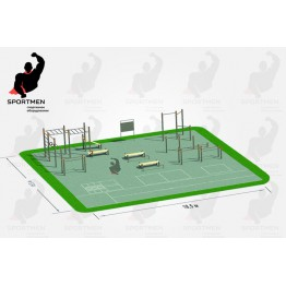 Спортивная площадка СП-4